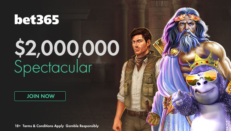 Vinn enorme gevinster i bet365 $2 million Spektakulær nå i mai