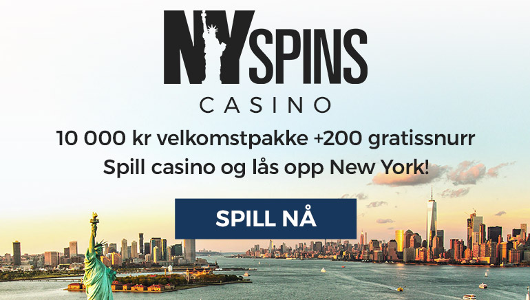 Alt er større med NY Spin Casino sin velkomstpakke