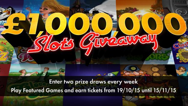 Vinn en formue ved å ta del i bet365 Casino sitt £1,000,000 / $1,500,000 stunt