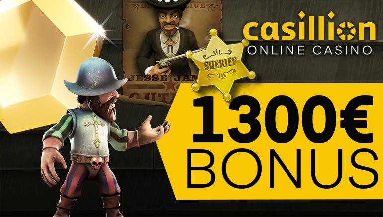 Spark ting i gang med stil med Casillion Casino sin velkomstbonus