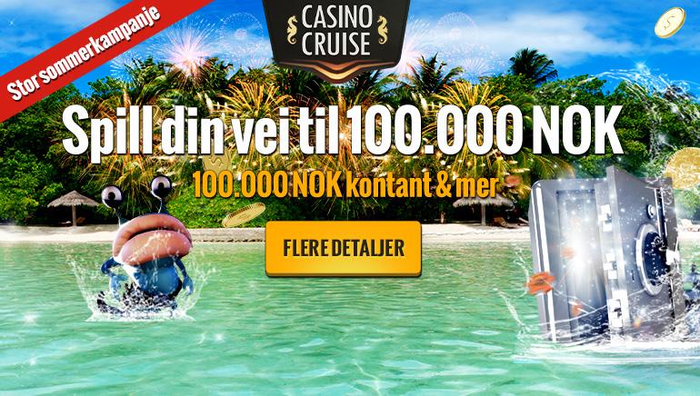 Casino Cruise gir bort  €10,000 helt gratis i juni