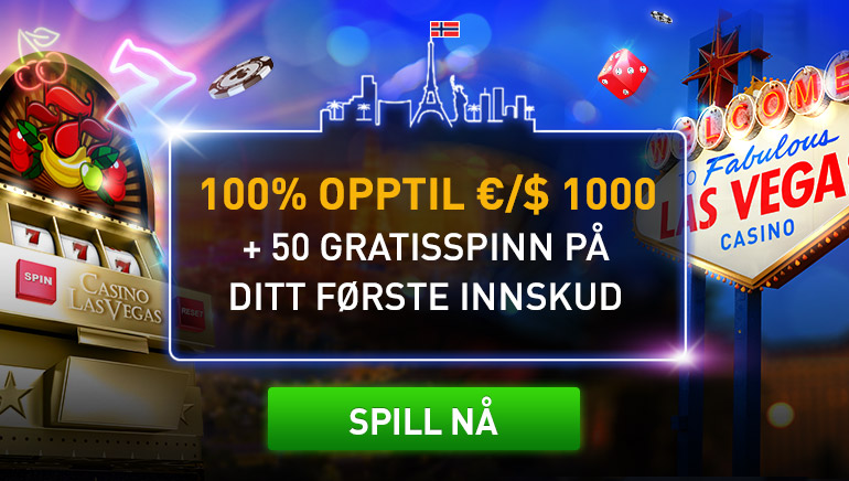 Casino Las Vegas spillere feirer generøs velkomstpakke