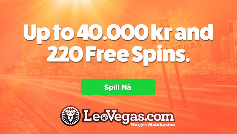 Forlenget velkomst hos LeoVegas Casino