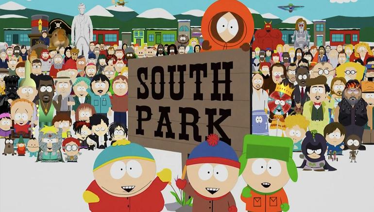 Kom til South Park s nettbaserte slotspill
