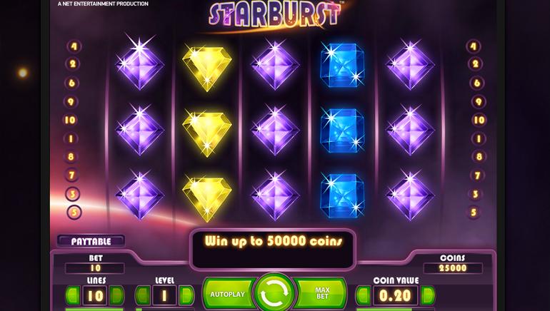 Cherry Casinos kampanje på Starburst gir mange Free Spins
