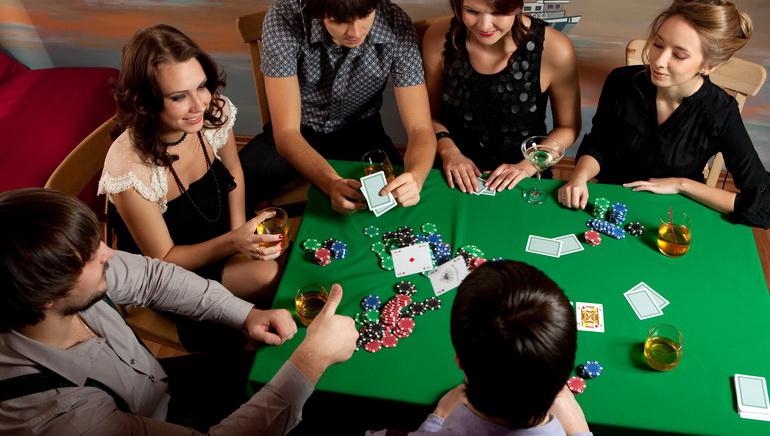Poker med ekte penger