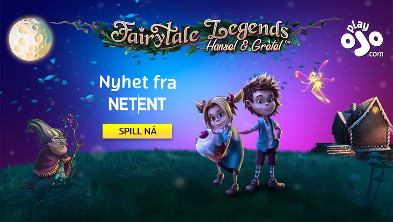 Nyt Hans & Grete samt et imponerende utvalg av NetEnt spill hos PlayOJO