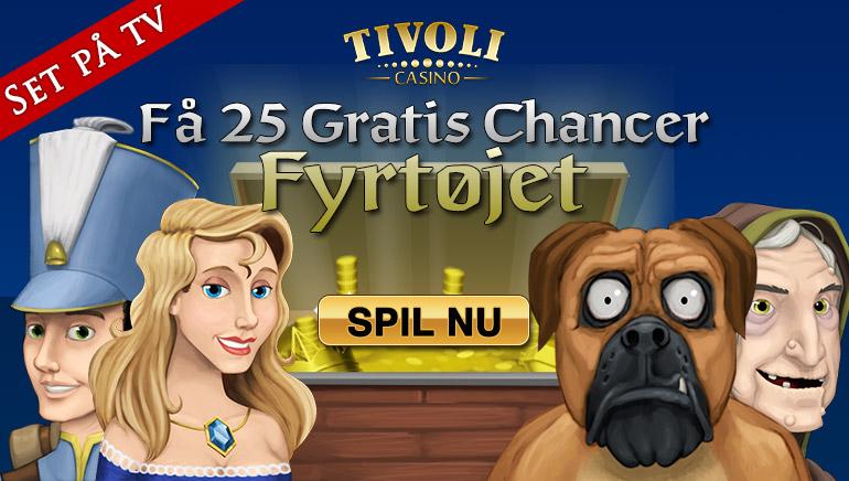 En varm Tivoli velkommen med en generøs bonus pakke