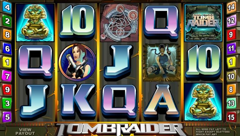 Microgaming casinoer får ny Lara Croft spilleautomat i 2019