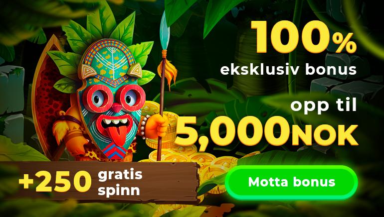 Wazamba Casino gir deg bonusspinn i et mytisk eventyr!