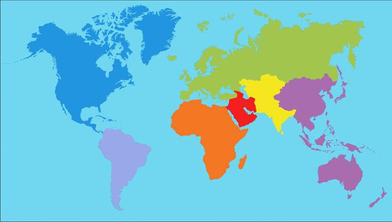 Velg ditt land